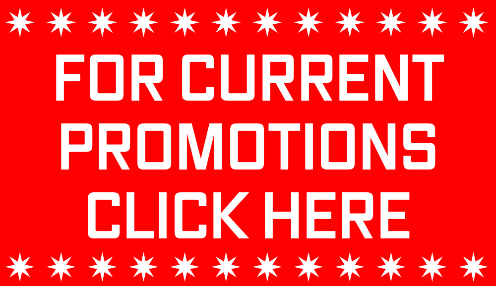 FOR CURRENT PROMO CLICK HERE - BOX
